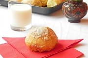 Chifle dulci cu nuca de cocos