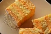 prajitura cu blat pufos si crema de caise