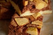 Prajitura din albusuri cu mere si cacao