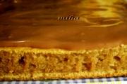 Glazura de ciocolata pentru prajitura cu banane