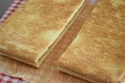 Foi pentru prajitura cu crema mascarpone si gem de capsuni