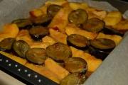 prajitura-rasturnata-cu-prune si nectarine-3