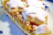Felie de tarta cu mere