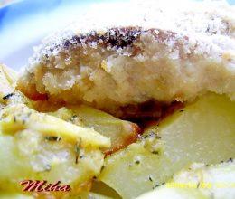 Crap in crusta aromata la cuptor