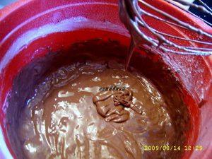 Foi pentru tort cu ciocolata