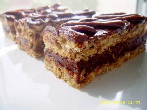 Prajitura cu nuca si ciocolata