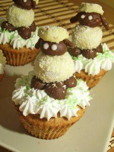 Prajituri mici cu ciocolata