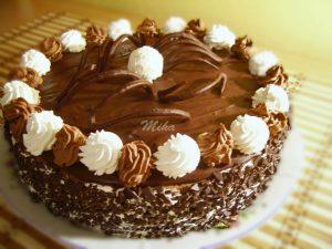 Tort Amandina cu ciocolata