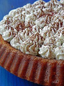 Tarta cu crema de ciocolata si ananas