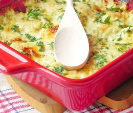 Chiftelute gratinate