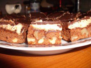poza cu prajitura brownies