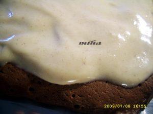 asamblare prajitura brownies cappucino