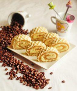 Rulada cu biscuiti