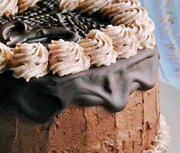 Tort de ciocolata si migdale