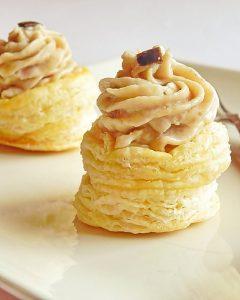 cosulete de foietaj cu pasta de peste