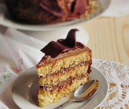 Tort cu budinca de ciocolata