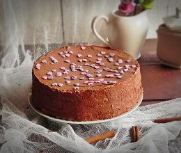 Tort cu crema de ciocolata si scortisoara