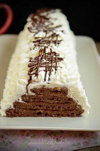 Piramida cu ciocolata