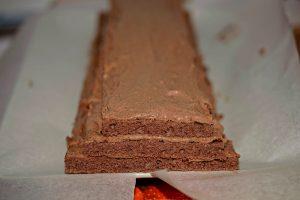 Preparare piramida cu ciocolata
