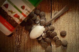ciocolata fara zahar si green sugar