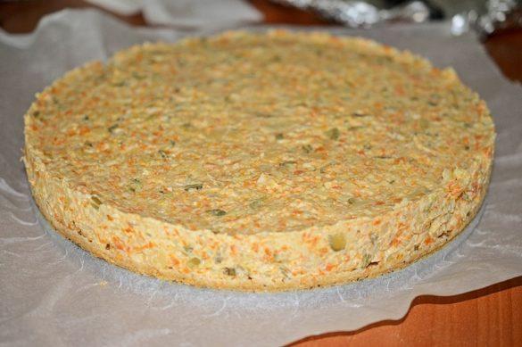 Tort aperitiv cu salata