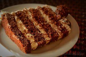 Tort cu blat de ciocolata si crema mascarpone