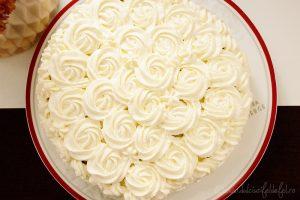 Tort spirala cu nuca si crema de vanilie