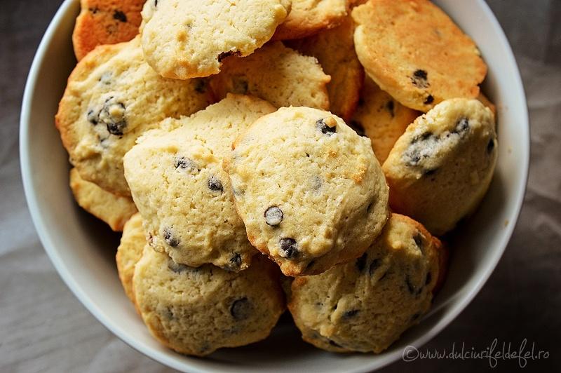 Cookies cu picaturi de ciocolata