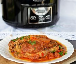 Osso Buco la slow-cooker Crock Pot