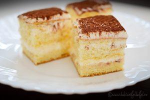 Prajitura cu crema mascarpone si vanilie