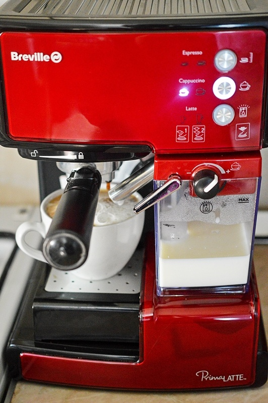 espressor breville prima latte