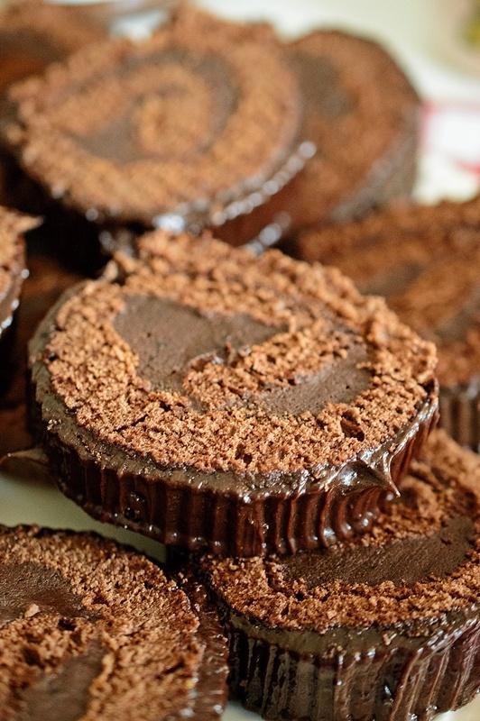 rulada cu crema de ciocolata nutella