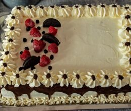 Tort Oreo cu mascarpone si ciocolata